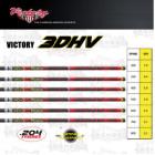 VICTORY SHAFT 3DHV 204 V6 SPORT carbon vessző